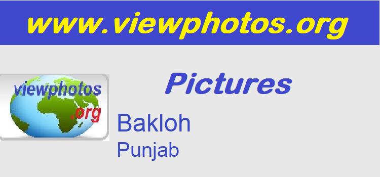 Bakloh Pictures