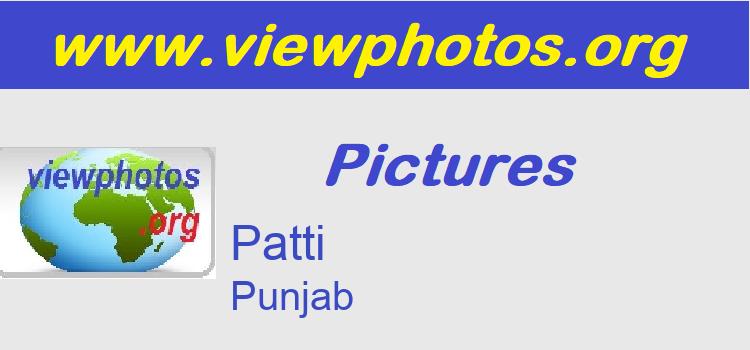 Patti Pictures