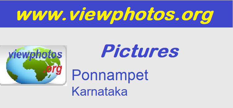 Ponnampet Pictures