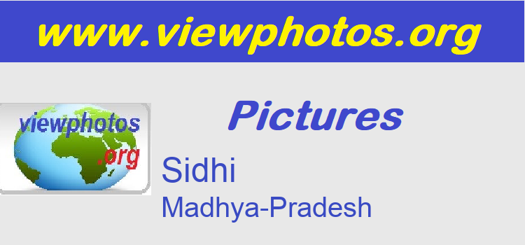 Sidhi Pictures