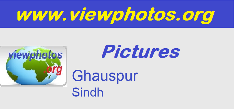 Ghauspur Pictures