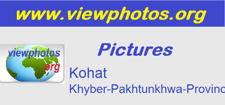 Kohat Pictures