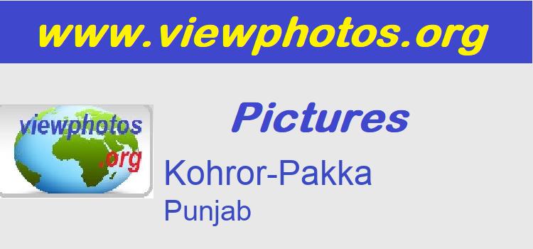 Kohror-Pakka Pictures
