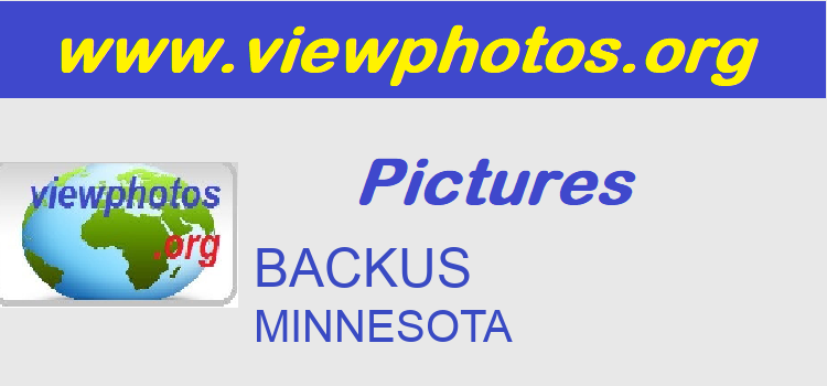 BACKUS Pictures